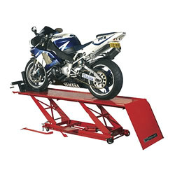 Clarke CML3 Foot Pedal Operated Hydraulic Motorcycle Lift