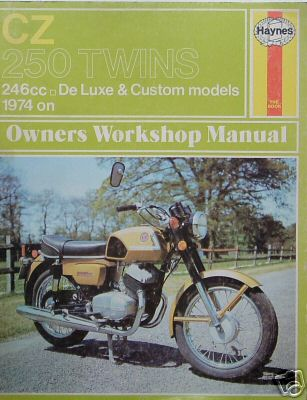 owners workshop haynes manuals jawa cz owners club. Black Bedroom Furniture Sets. Home Design Ideas
