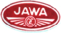 JAWA CZ sew on patch, white on red, approx 90 x 45mm. Probably 1960's/1970's era.